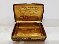 Antique 1900s Tin Match Safe Bryant & Mays LIMITED Vesta CASE