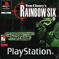 Tom Clancy's Rainbow Six rogue  PlayStation 1 also ps2
