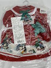 "Daisy Kingdom-Doll Tuxedo Junction Dress Fits 17-19"" Dolls-Winter Penguin Skiing"