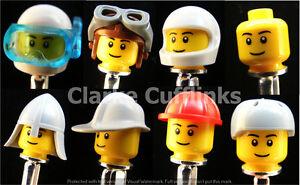 LEGO ® Mini Figure Cufflinks Scuba Pilot Biker Builder Fireman Knight Bald Mens
