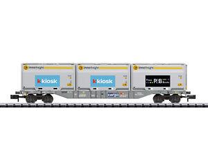 Minitrix 18405 Container-Tragwagen SBB Innof Spur N