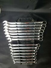 Gearwrench Sae Combo Non Ratcheting Wrench Set 14 Pc Used Missing 916