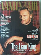 1994 December Vanity Fair - Liam Neeson NEW NOS