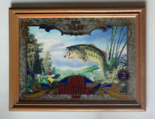 Old Milwaukee Beer Wildlife Series 2 🦌The Bass🦌 Mirror/Sign