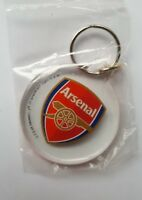 acc561) Official Licensed Football  Arsenal Keyring Key Ring  Plastic BNIP
