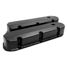 Ford Windsor 389 302 351 Black Sheet Alloy Fabricated Valve Rocker Covers
