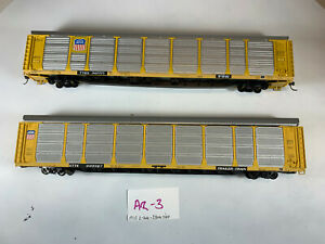 Walthers HO 89' Auto Rack Union Pacific UP LOT x2 AR-3