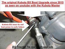 Kubota BX & GR Inner Tie Rod Boot Upgrade  (all BX models) Kubota # K1253-01660