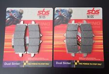 2x SBS 901 DS DUAL SINTER PASTILLAS DE FRENO CARRERAS BMW S 1000RR HP4, 1200 HP2