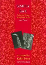 Simply Sax, Solos for Tenor Saxophone in Bb and Piano F488