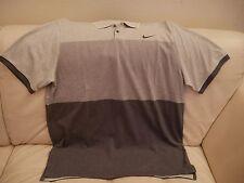 NEW MEN'S SIZE XL NIKE GRAY Polo Shirt TOP 685735-050 NIKE GOLF DRI FIT $80.00