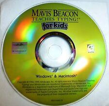 Mavis Beacon Teaches Typing for Kids PC CD
