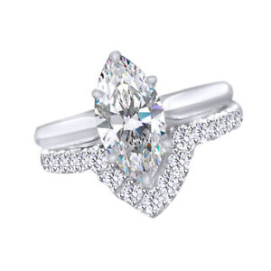 Simulated Diamond Solitaire Anniversary Wedding Engagement Ring's 14K Solid Gold