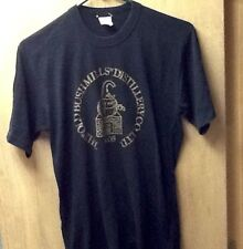 VINTAGE THE OLD BUSHMILLS DISTILLERY IRISH WHISKEY M SHIRT 1980s JAMESON SOFT