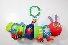 Eric Carle Very Hungry Caterpillar Teething Rattle Interactive Baby Toy Plush