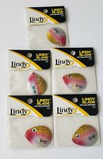 LINDY BLADES  5 PACKS #6 COLORADO LBC613 ALEWIFE 3 PER PACK 15 TOTAL