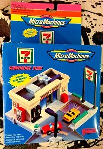 1994 Galoob Micro Machines 7-11 Convenience Store ~ Rare