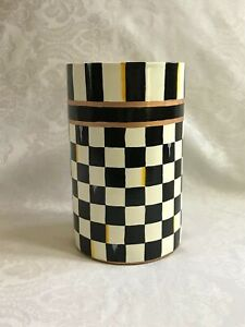 Mackenzie Childs Courtly Check WP Magnet+Stainless Insulated/Wine Cooler/Bucket