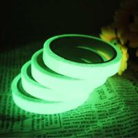 1 PCS Luminous Tape Self-adhesive Glow In The Dark Safety Stage Sticker Home UK