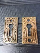 antique keyhole escutcheon