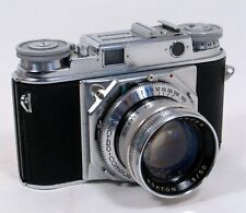 VOIGTLANDER PROMINENT camera with NOKTON 50mm/f1.5. Excellent condition, 124/R