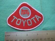 Toyota Racing Division Parts Dealer Service Racing Uniform Patch