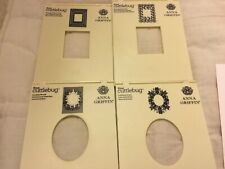 ANNA GRIFFIN  *TRELLIS* CUTTLEBUG EMBOSSING FOLDERS & SENTIMENTS NEW #2803