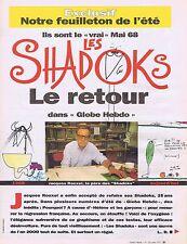 COUPURE DE PRESSE CLIPPING 1993 LES SHADOKS le Retour (7 pages)J. ROUXEL