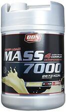 Best Body - Hardcore Mass 7000 3000 Gramm Dose Geschm. Erdbeer-banane Shaker