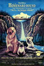 HOMEWARD BOUND THE INCREDIBLE JOURNEY Movie POSTER 27x40 Robert Hays Kim Greist