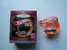 Hallmark Ornament Holiday Hot Wheels 30th Anniversary New in box