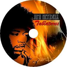 Jimi Hendrix BASS & GUITAR TAB CD Tablature GREATEST HITS BEST OF BLUES Music