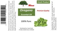 OIL OF OREGANO 1 Oz. WILD NON GMO 86% CARVACROL - IMPORTED FROM GREECE