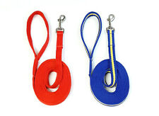 Dog Training Lead 5ft - 30ft Walking Leash Soft Strong 20mm Padded Air Webbing