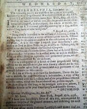 Rare New Haven Ct Connecticut Revolutionary War Independence Year 1776 Newspaper