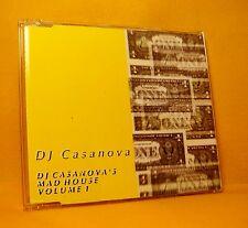 MAXI Single CD DJ CASANOVA Dj Casanova's Madhouse volume 1 4TR 1995 house tribal