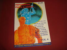 PAPERBACK PULP AND COMIC COLLECTOR Volume 4 1996 Squarebound Fanzine UK