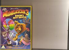MADAGASCAR 3 EUROPE'S MOST WANTED DVD KIDS