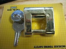 TRAILER COUPLER LOCK,PIN LOCK, Trigger release Latch Type Tongue, Anti-Theft