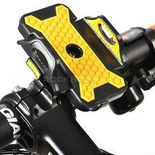 Letdooo Cycling Bicycle Smartphone Bracket Phone Holder Black Yellow Plus Size