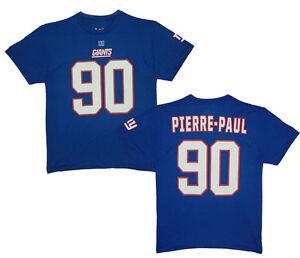 NFL T-Shirt New York Giants Pierre-Paul 90 Eligible Receiver Blue Jersey