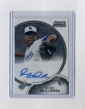 2011 Bowman Sterling RC Auto Rubby De La Rosa Rookie