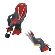 seggiolino posteriore bikey relax reclinabile con attacco al telaio antracite/ro