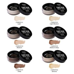 """1 NYX Can't Stop Won't Stop Setting Powder """"Pick Your 1 Color"""" *Joy's cosmetics*"""