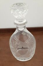 COURVOISIER - CRISTAL D'Arques DECANTER w/ STOPPER  LEAD CRYSTAL FRANCE Napoleon