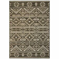 vidaXL Vloerkleed Binnen/Buiten 80x150 cm Sisal Look Geometrisch Vloer Kleed