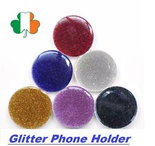 Glitter Expanding Phone Grip Round Ring Holder Bracket Stand 360 Degree Universa