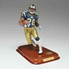Danbury Mint Marshall Faulk Nfl Hof Saint Louis Rams Figure Figurine Nib *Rare*
