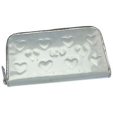 Marc By Marc Jacobs Wallet Purse Long Wallet Silver Woman Authentic Used Y3171