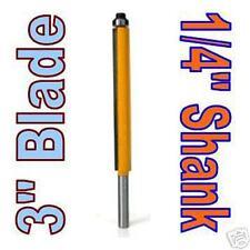 "1 pc 1/4"" SH 3"" Blade Extra Long Flush Trim Router Bit  sct-888"